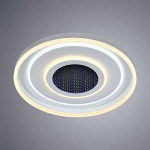 Фото 2 Накладной светильник A1432PL-1WH в стиле модерн