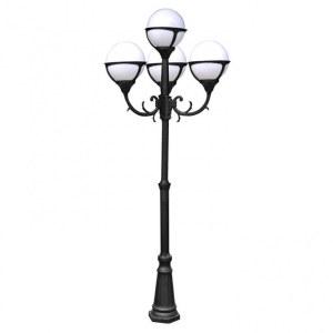 Фонарный столб A1497PA-4BK Arte Lamp