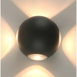 Фото 1 Накладной светильник A1544AL-4GY в стиле техно