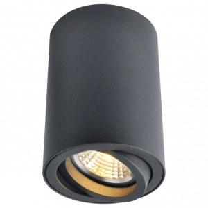 Фото 1 Накладной светильник A1560PL-1BK в стиле техно
