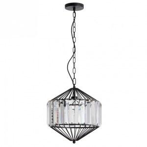 Фото 2 Подвесной светильник A1790SP-1BK в стиле модерн