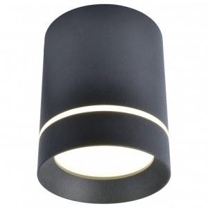 Фото 1 Накладной светильник A1909PL-1BK в стиле техно