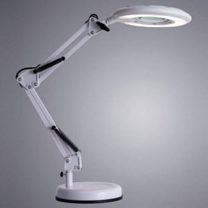Фото 2 Настольная лампа офисная A2013LT-1WH в стиле модерн