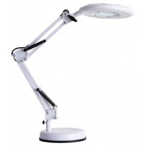Фото 1 Настольная лампа офисная A2013LT-1WH в стиле модерн