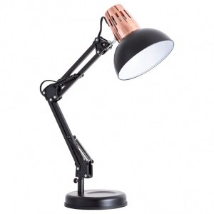 Фото 1 Настольная лампа офисная A2016LT-1BK в стиле техно