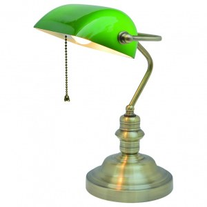 Фото 1 Настольная лампа офисная A2492LT-1AB в стиле модерн
