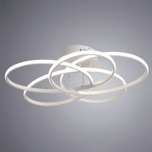 Фото 2 Накладной светильник A2521PL-5WH в стиле модерн