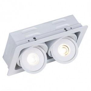 Фото 1 Встраиваемый светильник A3007PL-2WH в стиле техно
