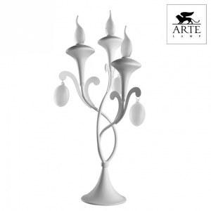 Фото 2 Настольная лампа декоративная A3239LT-3WH в стиле классический