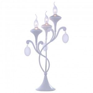 Фото 1 Настольная лампа декоративная A3239LT-3WH в стиле классический