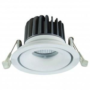 Фото 1 Встраиваемый светильник A3310PL-1WH в стиле техно