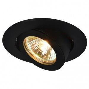 Фото 1 Встраиваемый светильник A4009PL-1BK в стиле техно