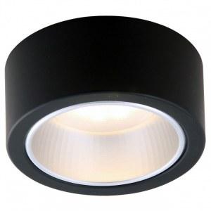 Фото 1 Накладной светильник A5553PL-1BK в стиле техно