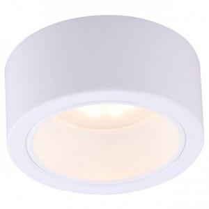 Фото 1 Накладной светильник A5553PL-1WH в стиле техно