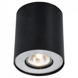 Фото 1 Накладной светильник A5633PL-1BK в стиле техно
