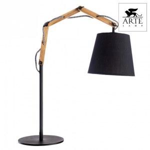 Фото 2 Настольная лампа декоративная A5700LT-1BK в стиле модерн