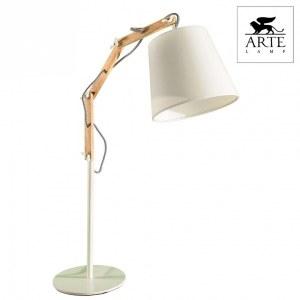 Фото 2 Настольная лампа декоративная A5700LT-1WH в стиле модерн