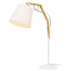 Фото 1 Настольная лампа декоративная A5700LT-1WH в стиле модерн