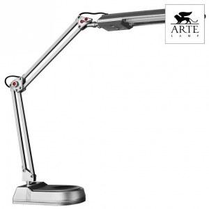 Фото 2 Настольная лампа офисная A5810LT-1SI в стиле техно