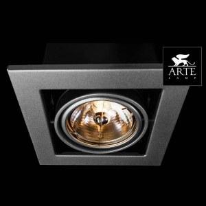 Фото 2 Встраиваемый светильник A5930PL-1SI в стиле техно