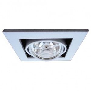 Фото 1 Встраиваемый светильник A5930PL-1SI в стиле техно