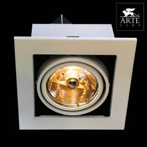 Фото 2 Встраиваемый светильник A5930PL-1WH в стиле техно