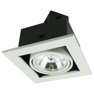 Фото 1 Встраиваемый светильник A5930PL-1WH в стиле техно