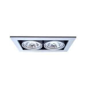 Фото 1 Встраиваемый светильник A5930PL-2SI в стиле техно