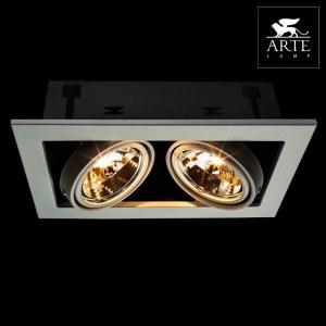 Фото 2 Встраиваемый светильник A5930PL-2WH в стиле техно