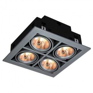 Фото 1 Встраиваемый светильник A5930PL-4SI в стиле техно