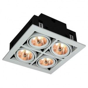 Фото 1 Встраиваемый светильник A5930PL-4WH в стиле техно