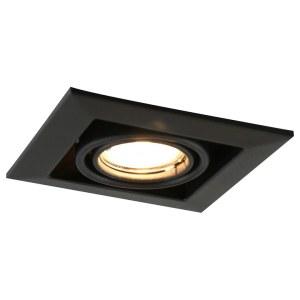 Фото 1 Встраиваемый светильник A5941PL-1BK в стиле техно