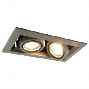 Фото 1 Встраиваемый светильник A5941PL-2GY в стиле техно