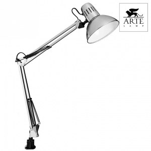 Фото 2 Настольная лампа офисная A6068LT-1SS в стиле техно