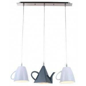Фото 1 Подвесной светильник A6604SP-3WH в стиле модерн