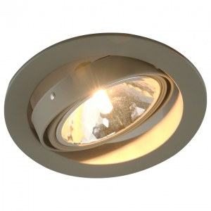 Фото 1 Встраиваемый светильник A6664PL-1GY в стиле техно
