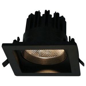 Фото 1 Встраиваемый светильник A7018PL-1BK в стиле техно