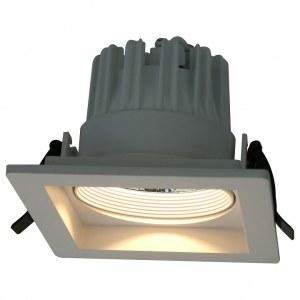 Фото 1 Встраиваемый светильник A7018PL-1WH в стиле техно
