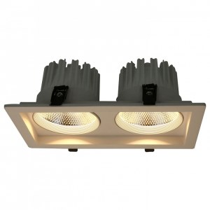 Фото 1 Встраиваемый светильник A7018PL-2WH в стиле техно