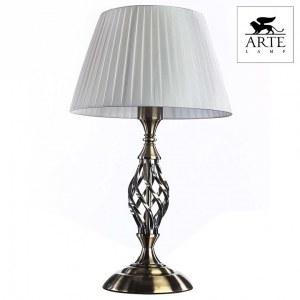 Фото 2 Настольная лампа декоративная A8390LT-1AB в стиле классический