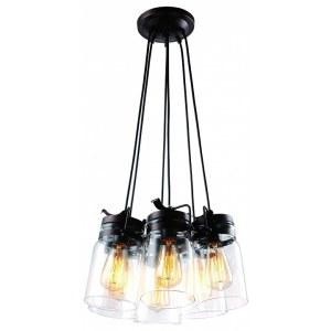 Фото 1 Подвесной светильник A9179SP-6CK в стиле техно