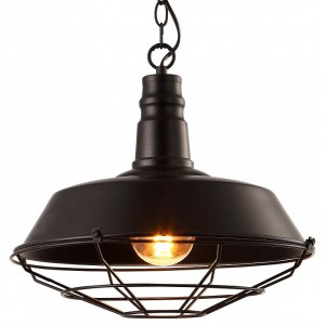 Фото 1 Подвесной светильник A9183SP-1BK в стиле модерн