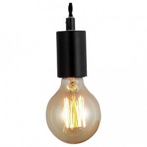 Фото 1 Подвесной светильник A9184SP-1BK в стиле техно