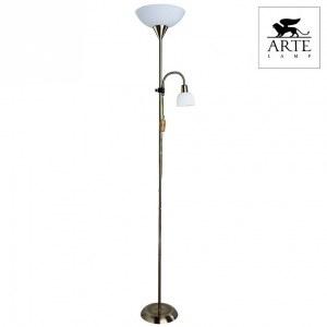 Торшер с подсветкой A9569PN-2AB Arte Lamp