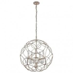 Фото 1 Подвесной светильник ARIA SP5 SILVER в стиле модерн