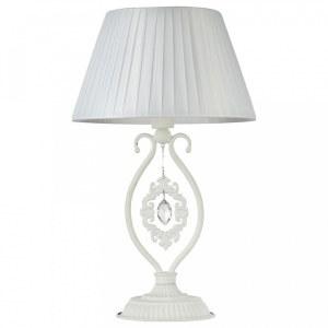 Фото 1 Настольная лампа декоративная ARM001-11-W в стиле флористика