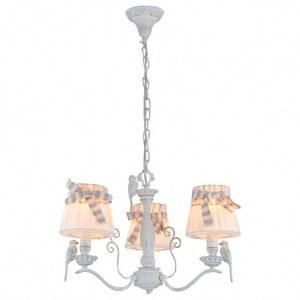 Фото 2 Подвесная люстра ARM013-03-W в стиле флористика