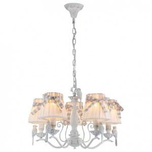 Фото 2 Подвесная люстра ARM013-05-W в стиле флористика
