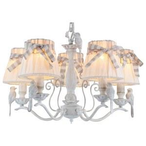 Фото 1 Подвесная люстра ARM013-05-W в стиле флористика
