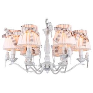 Фото 1 Подвесная люстра ARM013-06-W в стиле флористика